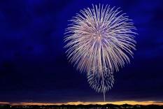 Photo of birthday celebration fireworks