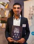 Mitesh with award