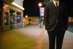 Photo of a young man in a suit