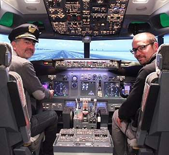 Captain and supporting first officer