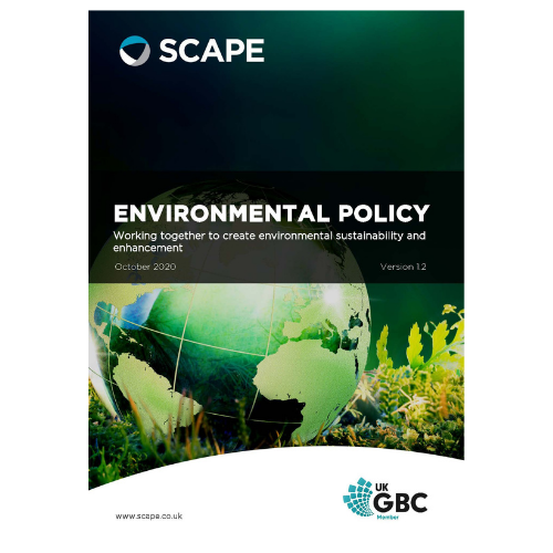 SCAPE Environmental Policy