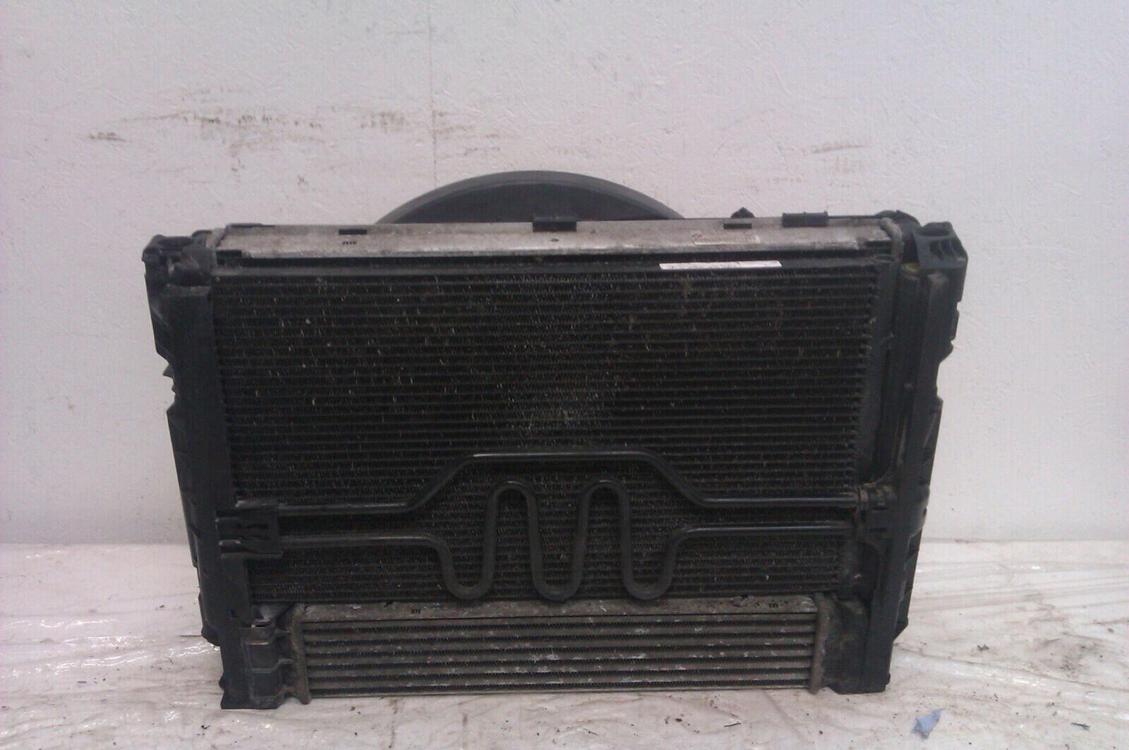 2007 BMW 3 Series 2005 To 2010 320 d Diesel Radiator Pack Air Con Intercooler