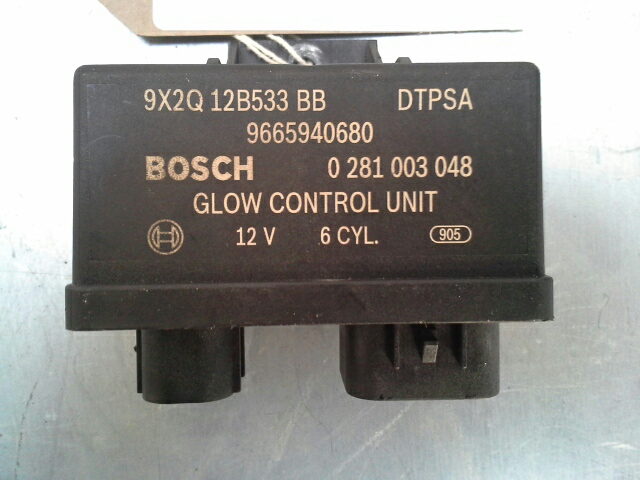 Land Rover Discovery 2010 On Glow Plug Control Box