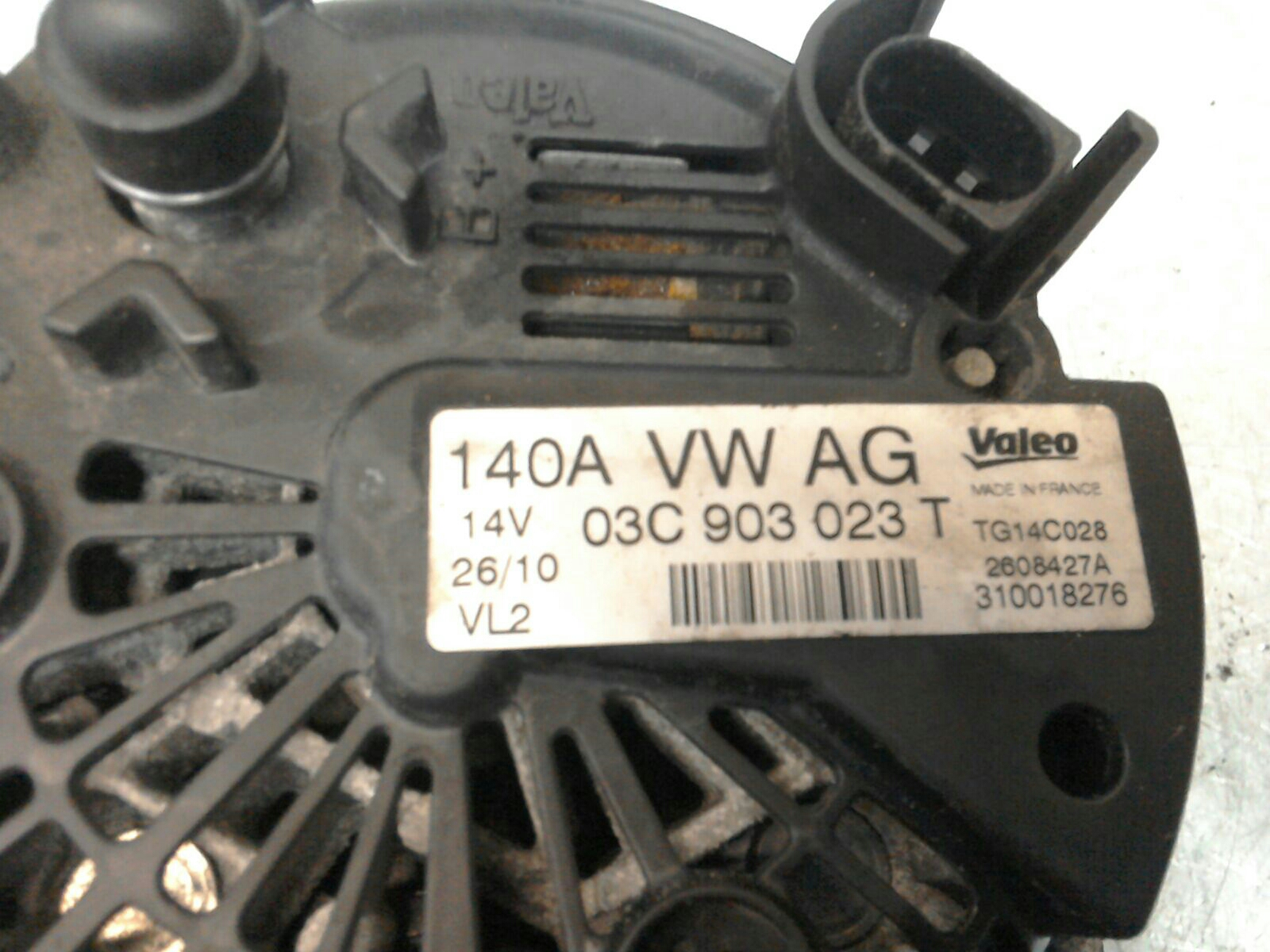 audi a3 2008 to 2013 alternator petrol manual for sale from scb rh scbvehicledismantlers co uk Audi A3 Owner Manual Audi A3 TDI