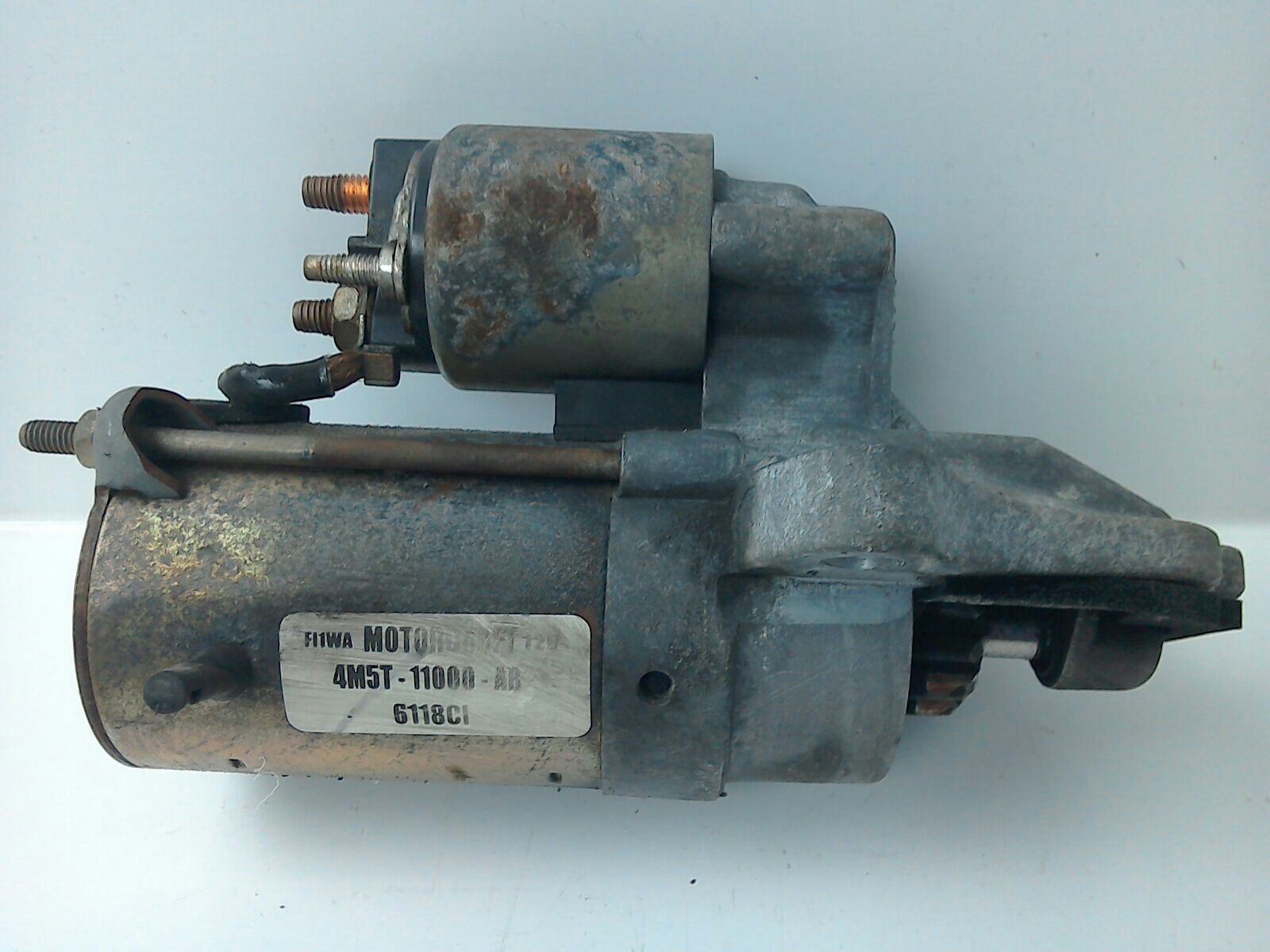 ... FORD FOCUS MK2 1.8 16V STARTER MOTOR 5 SPEED MANUAL MOTORCRAFT  4M5T11000AB 2006 ...