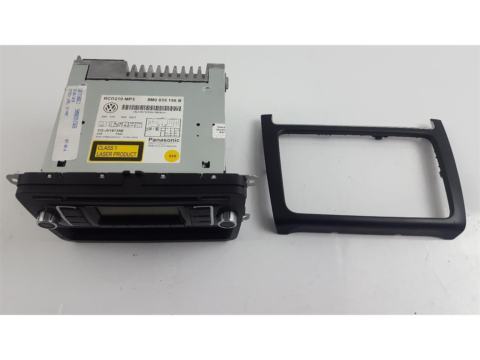 volkswagen polo 2010 to 2014 radio cd player petrol manual for rh scbvehicledismantlers co uk