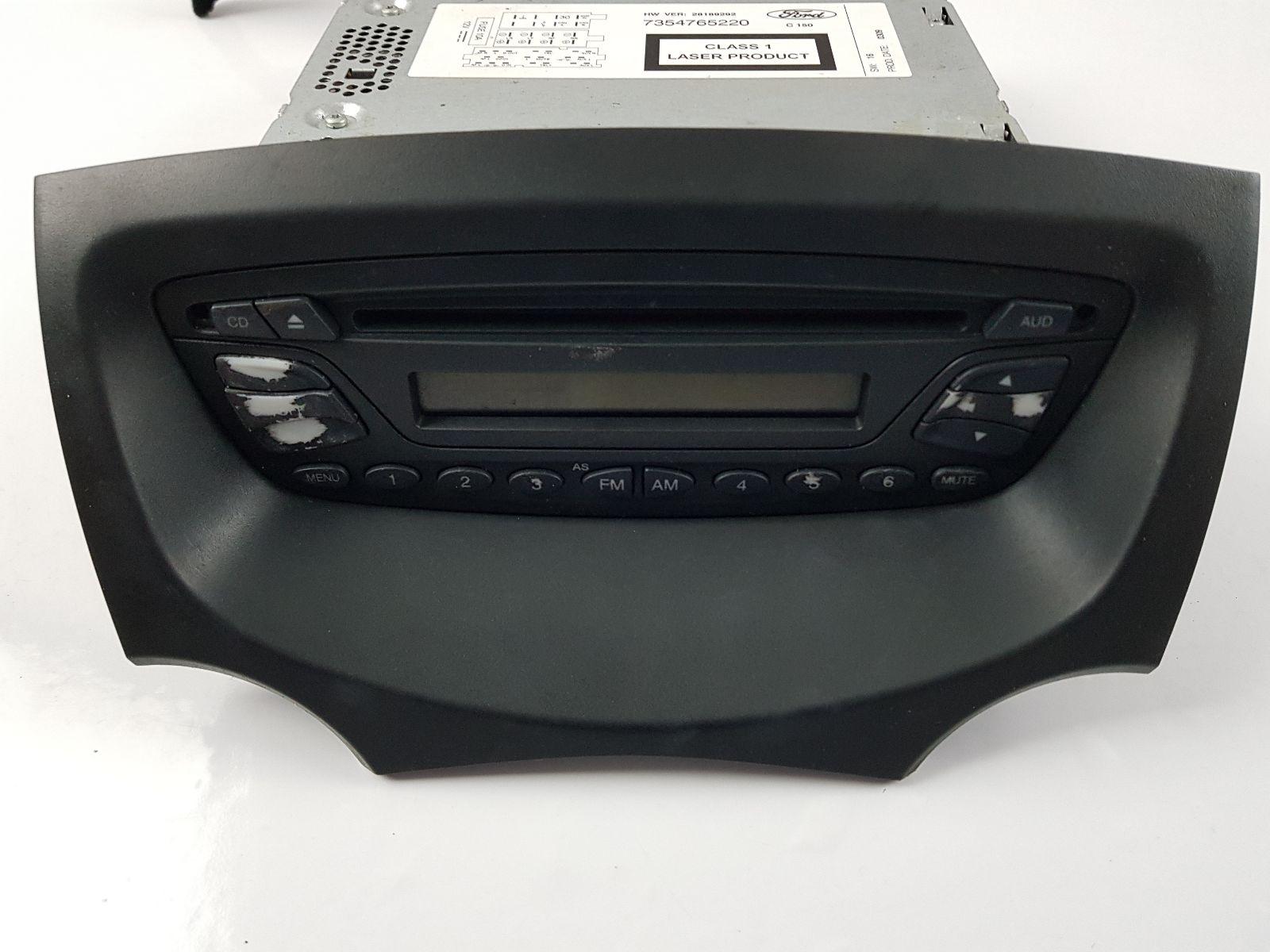 Mk Ford Ka Radio Cd Player