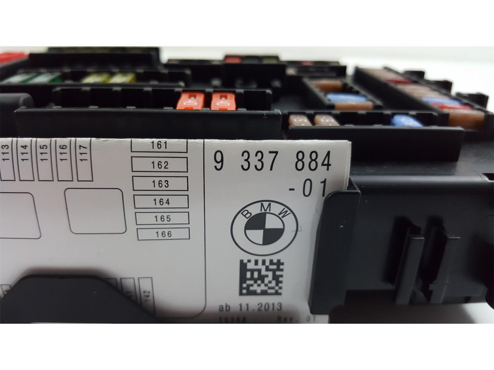 Bmw 3 Series 2012 To 2015 Fuse Box Diesel Manual For Sale From 1 2014 F31 320d 9337884 01