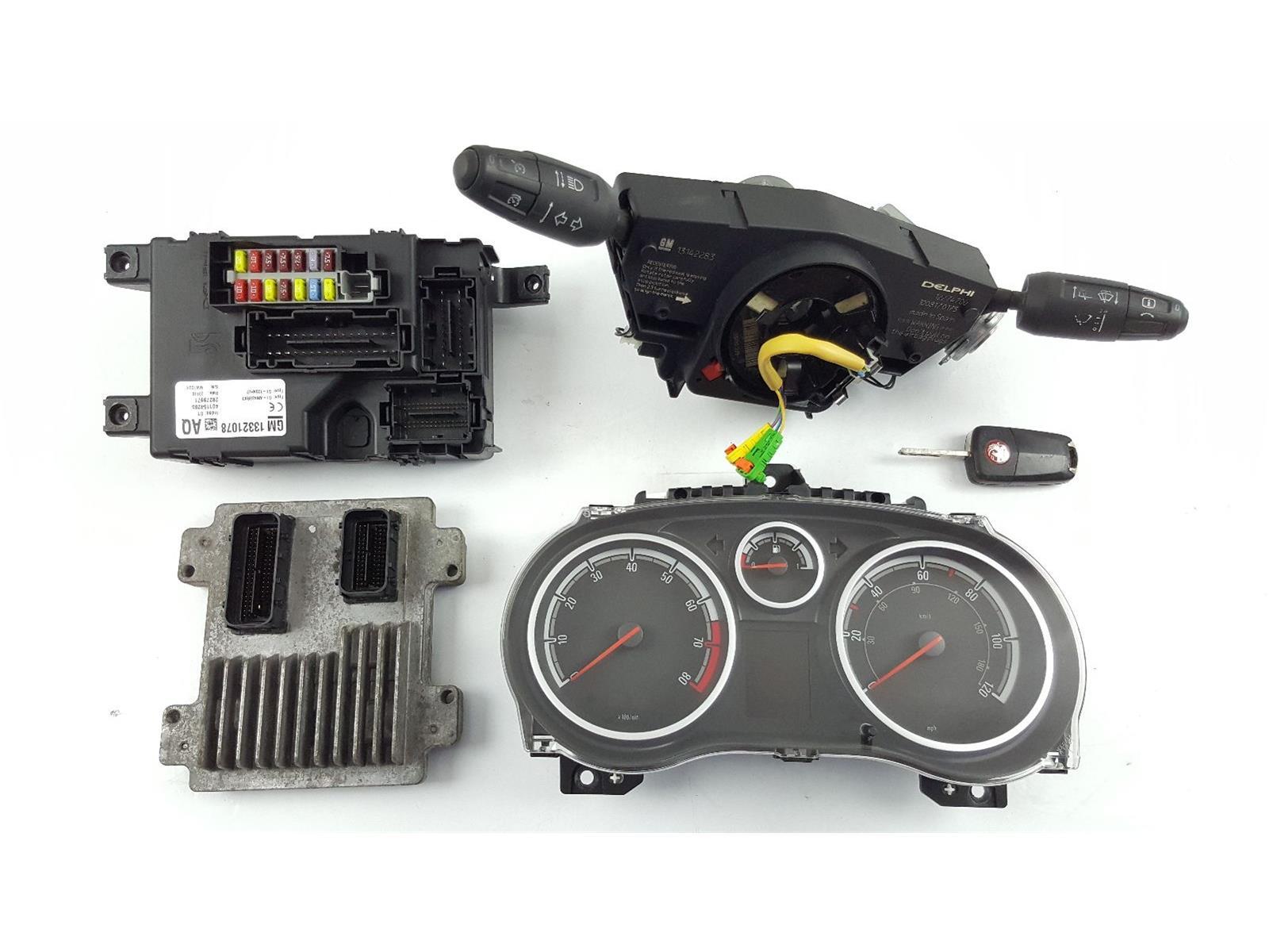 Vauxhall Corsa 2007 To 2011 ECU Engine (Petrol / Manual) for