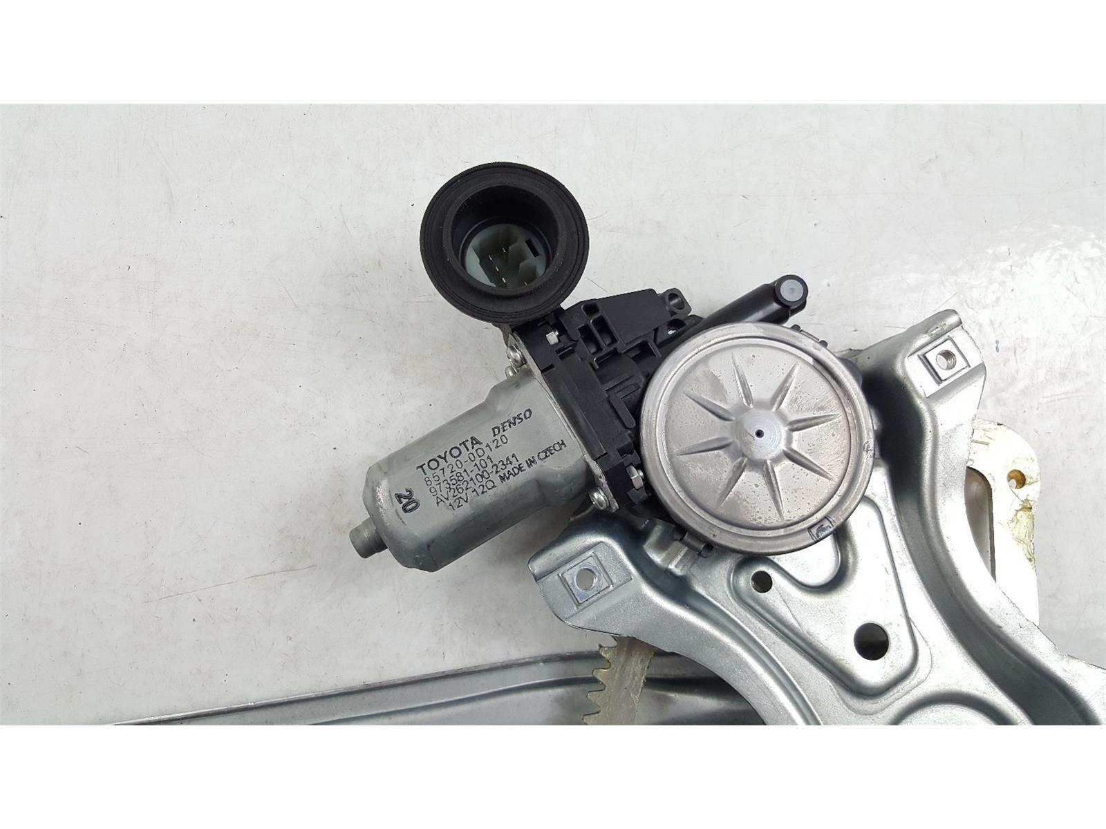 Toyota Yaris 2011 To 2014 Door Rear Window Regulator RH Petrol