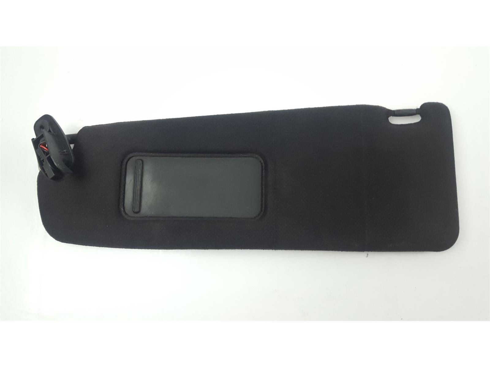 (2003) MK1 8N Audi TT Sun Visor LH NS Passenger Side Black Cloth  8N8857551A15F 8c498212044