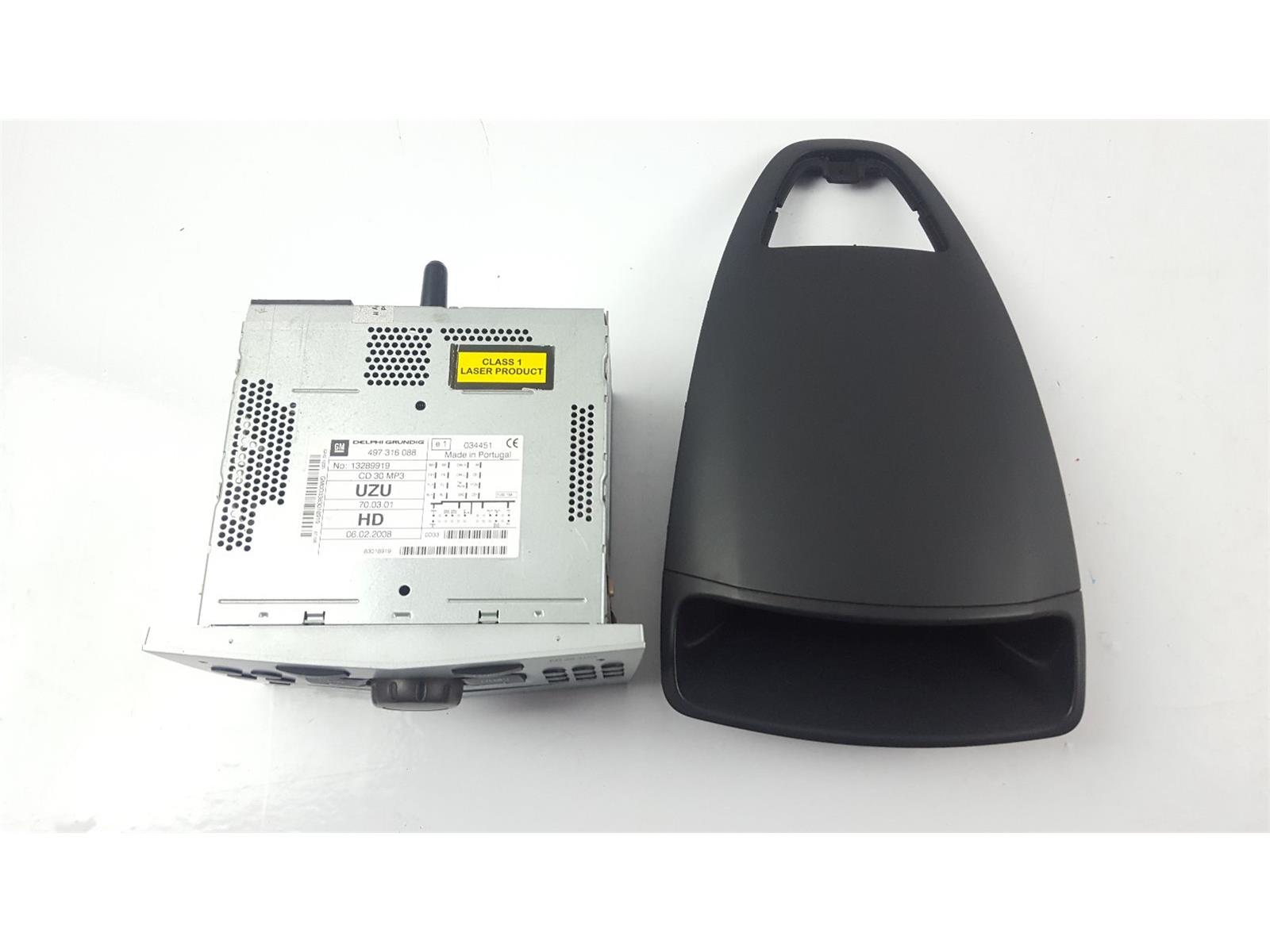 Vauxhall corsa 2007 to 2011 radio cd player petrol manual for mk3 vauxhall corsa d radio cd player cd30 mp3 13289919 13284430 sciox Images