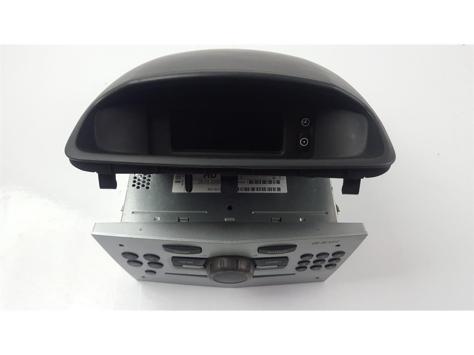 Vauxhall corsa 2007 to 2011 radio cd player petrol manual for 2008 mk3 vauxhall corsa d radio cd player cd30 mp3 13289919 13284430 sciox Images