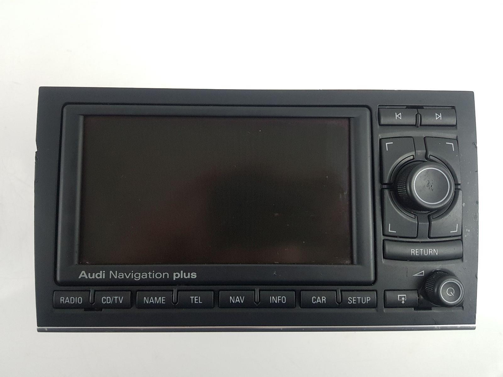 audi a4 2001 to 2005 satellite navigation cd unit diesel manual rh scbvehicledismantlers co uk Audi RNs E 2013 Audi A4 Navigation System Upgrade