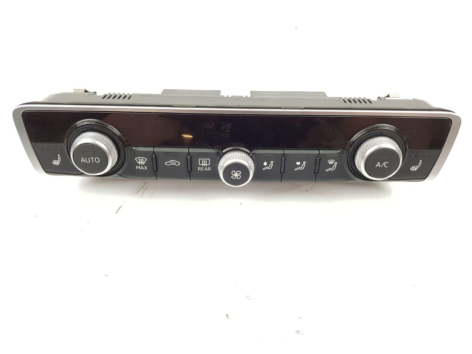Audi A3 2016 On Heater Control Assembly (Petrol / DSG) for