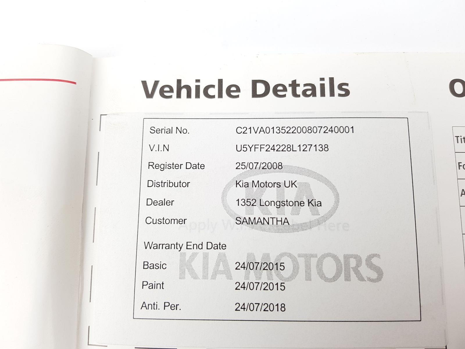 kia ceed 2007 to 2012 book pack petrol manual for sale from scb rh scbvehicledismantlers co uk kia ceed service manual pdf kia ceed sw service manual
