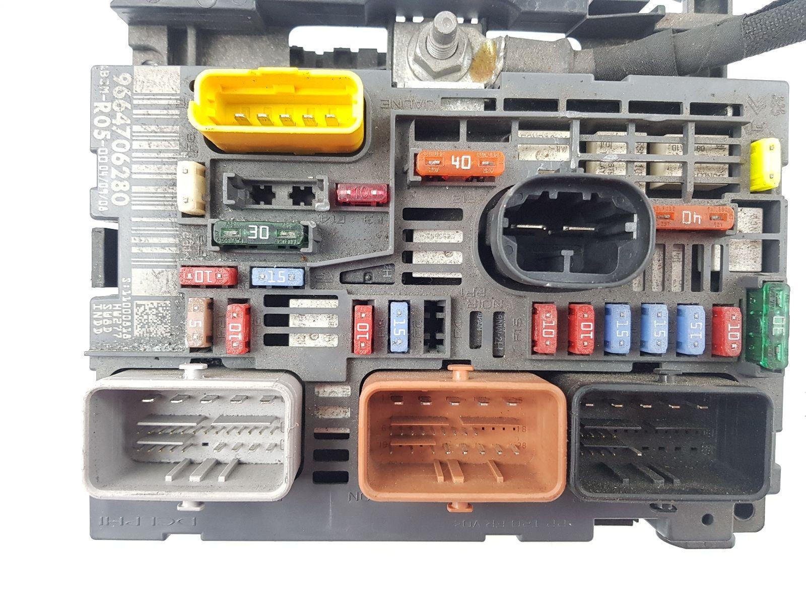 ... Peugeot 308 2008 To 2010 Fuse Box