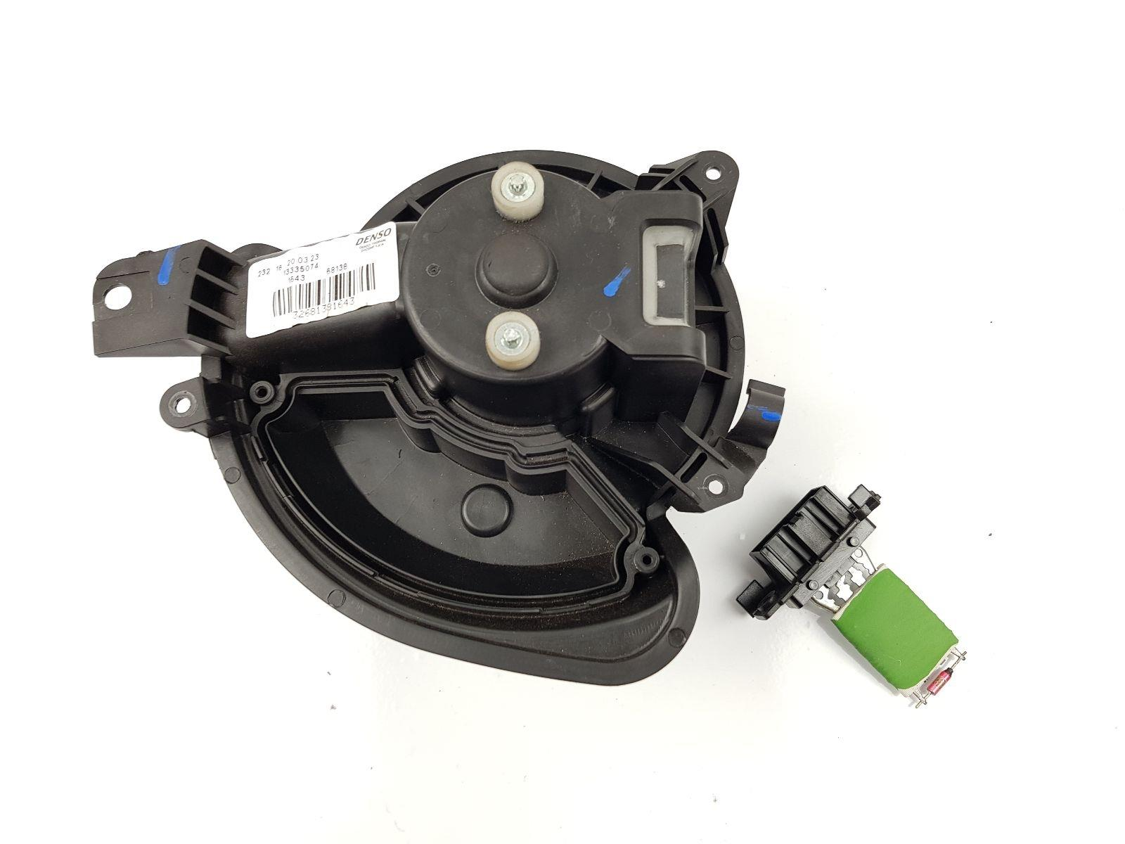 Vauxhall Corsa 2014 On Heater Blower Motor Petrol Manual For The Resistor And Wiring To Components Mk4 E 13335074