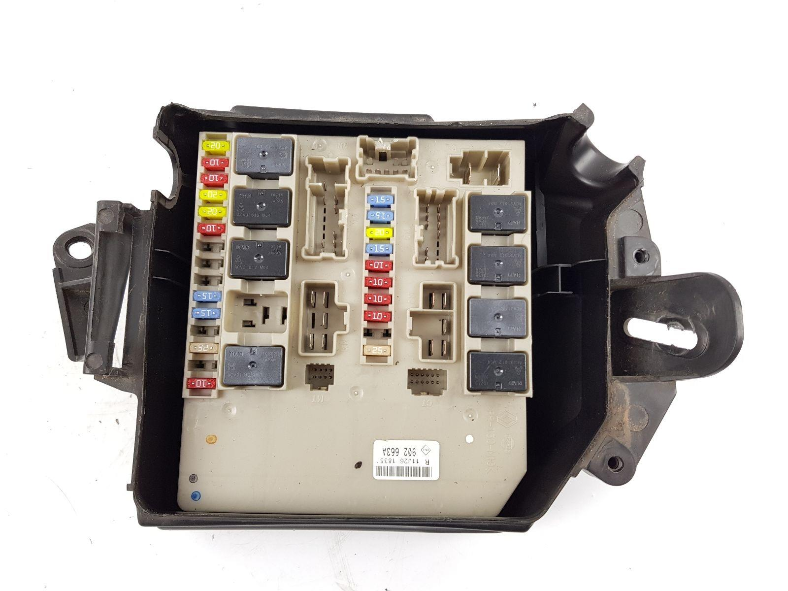 Renault Clio 2009 To 2012 Fuse Box Diesel Manual For Sale From On A