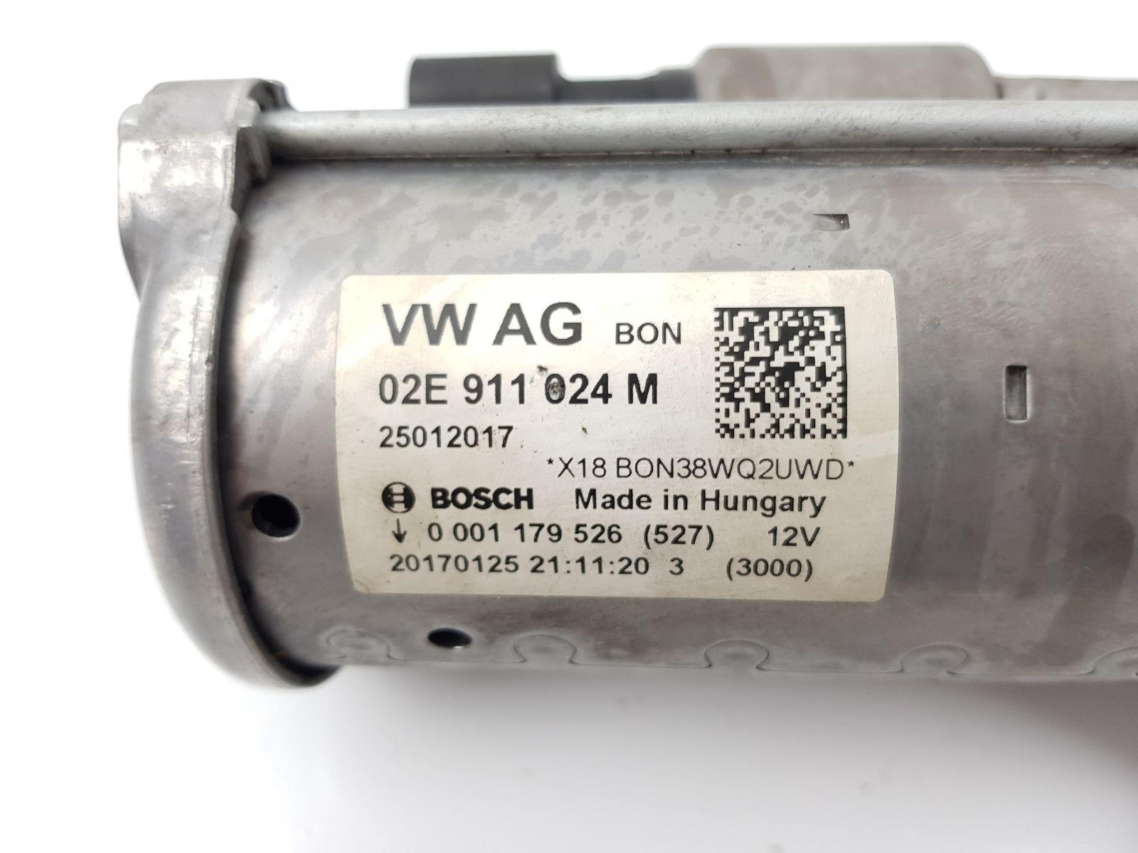 Audi A3 2016 On Starter Motor (Petrol / DSG) for sale from