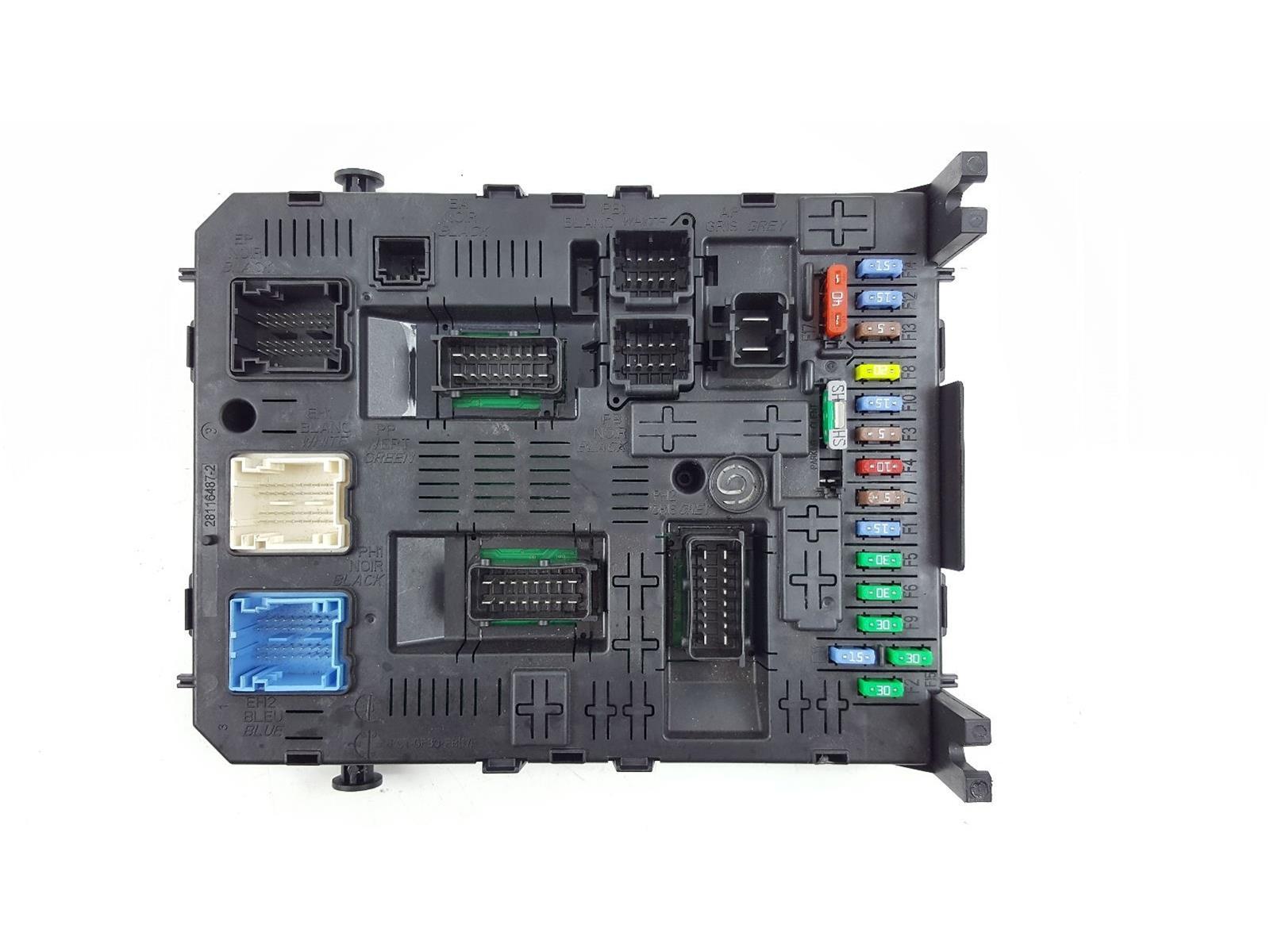 2015 On MK2 Peugeot Partner FUSE BOX 28119759-5 1.6 Diesel