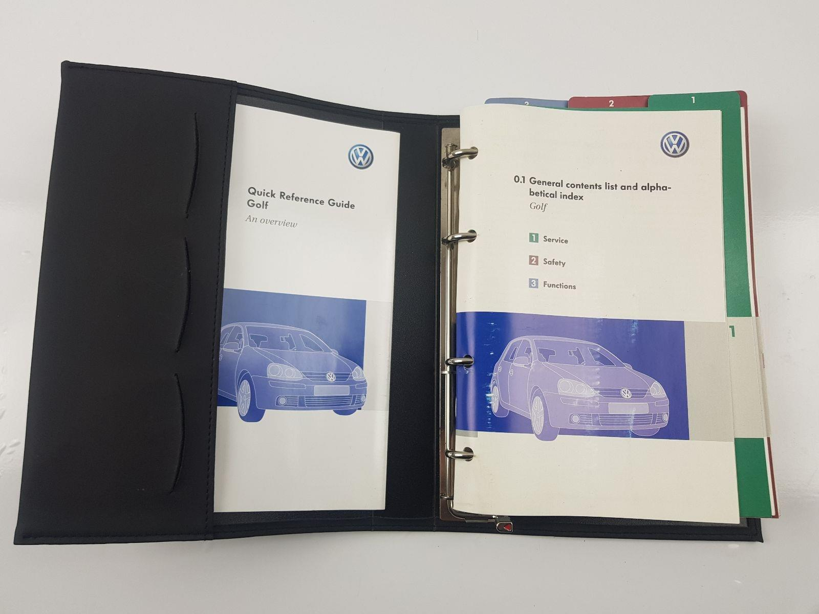 volkswagen golf mk5 2003 to 2009 book pack diesel manual for rh scbvehicledismantlers co uk Volkswagen Golf TDI Manual Volkswagen Golf GTI