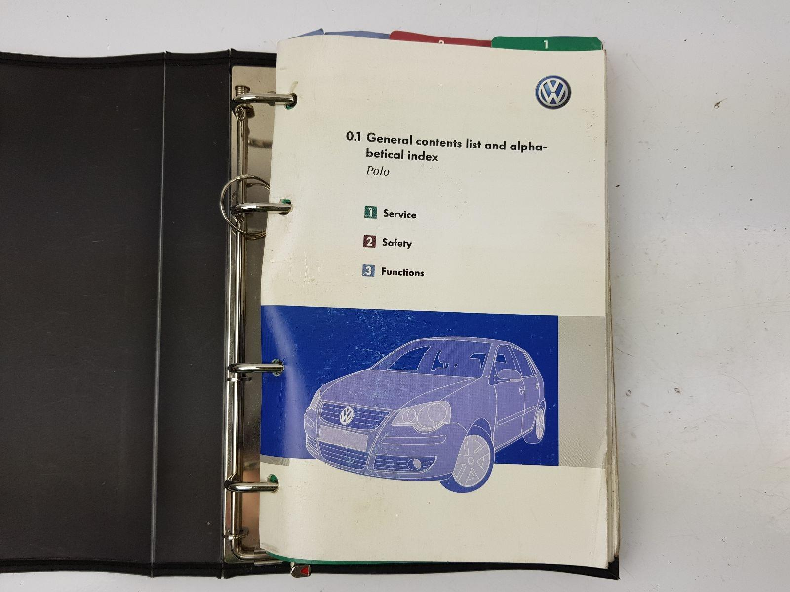Vw Polo 2005 Owners Manual 2009 Suzuki Gsf1250sa Starter Motor Components And Parts Diagram Array Volkswagen To Book Pack Petrol For Sale Rh Scbvehicledismantlers Co