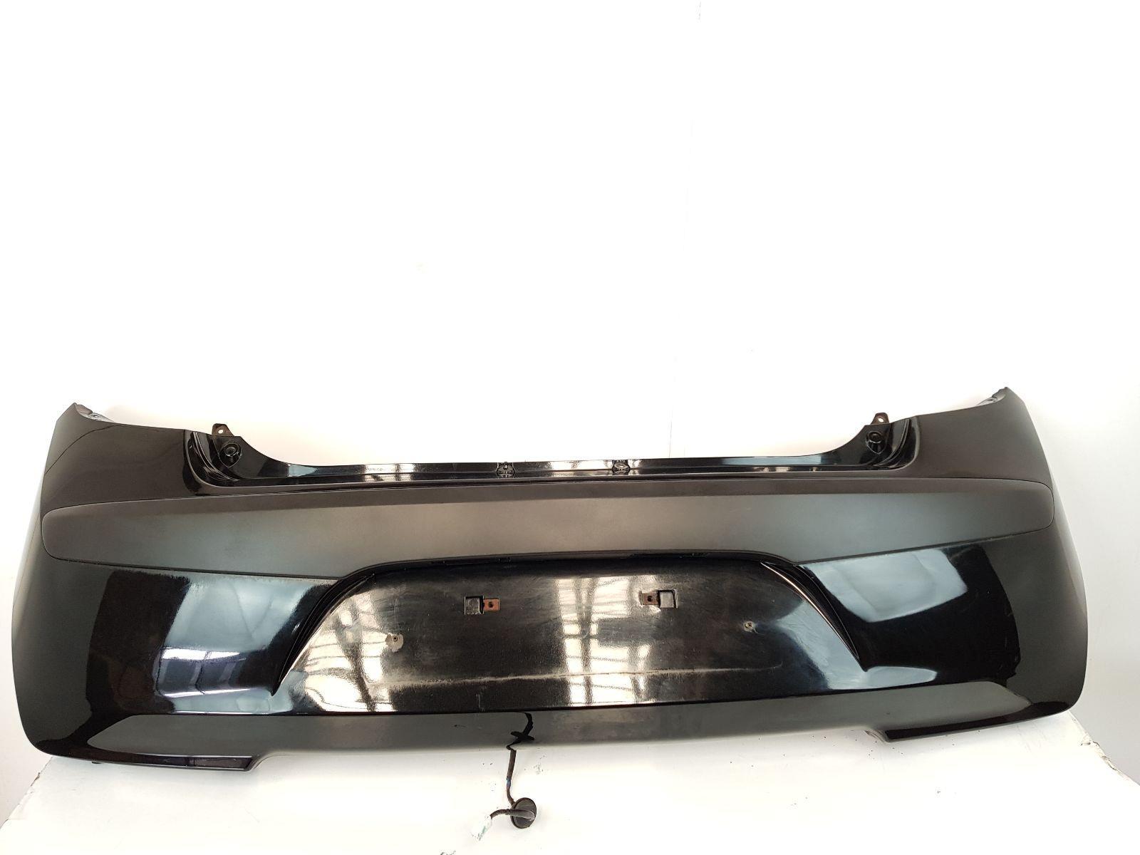 2008-2010 MK1 Hyundai i10 REAR BUMPER Black 5 Door Hatchback 866120X000