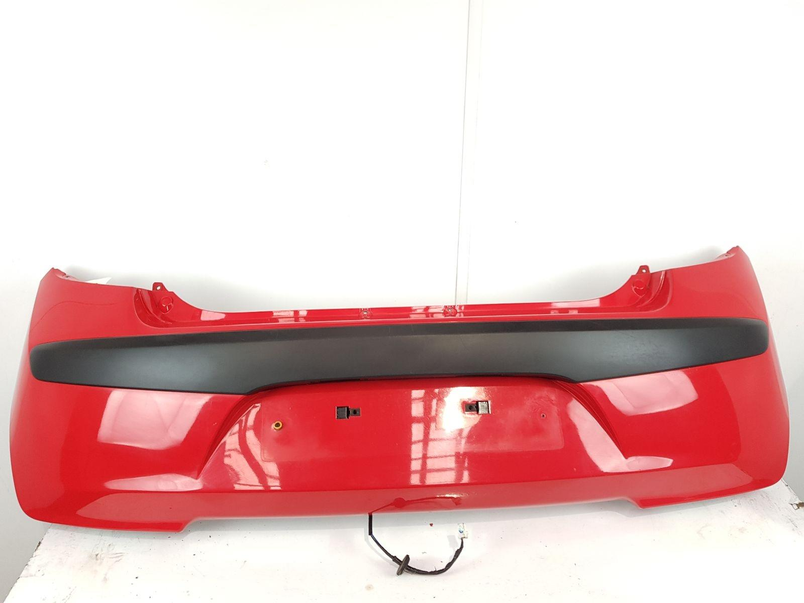 2008-2010 MK1 Hyundai i10 REAR BUMPER Red 5 Door Hatchback 866120X000