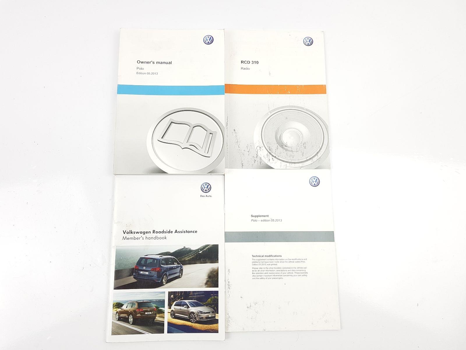 Volkswagen Polo 2010 To 2014 Book Pack Petrol Manual For Sale Rcd 310 Wiring Diagram Mk5 6r Owners
