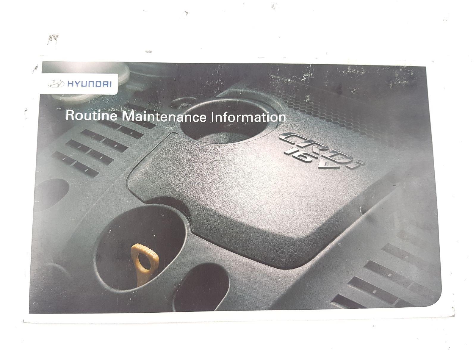 Hyundai i40 2011 To 2015 Book Pack (Diesel / Manual) for