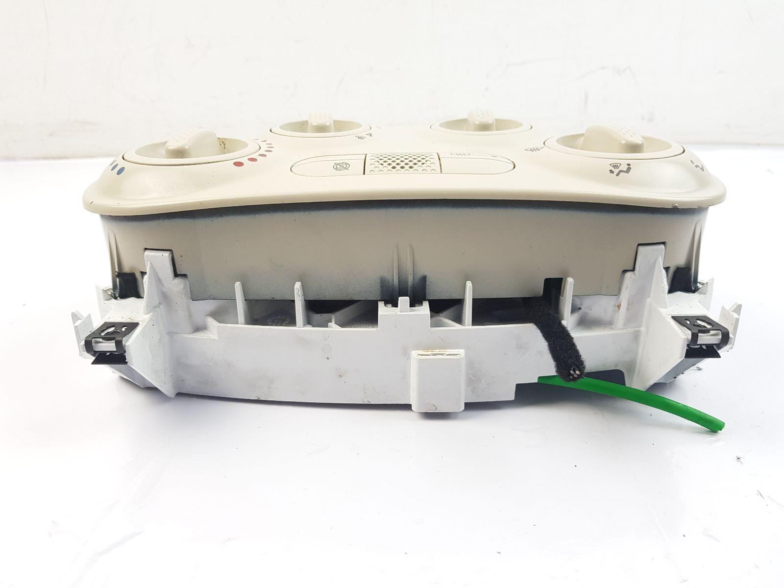 Fiat 500 Ivory Heater Control Panel
