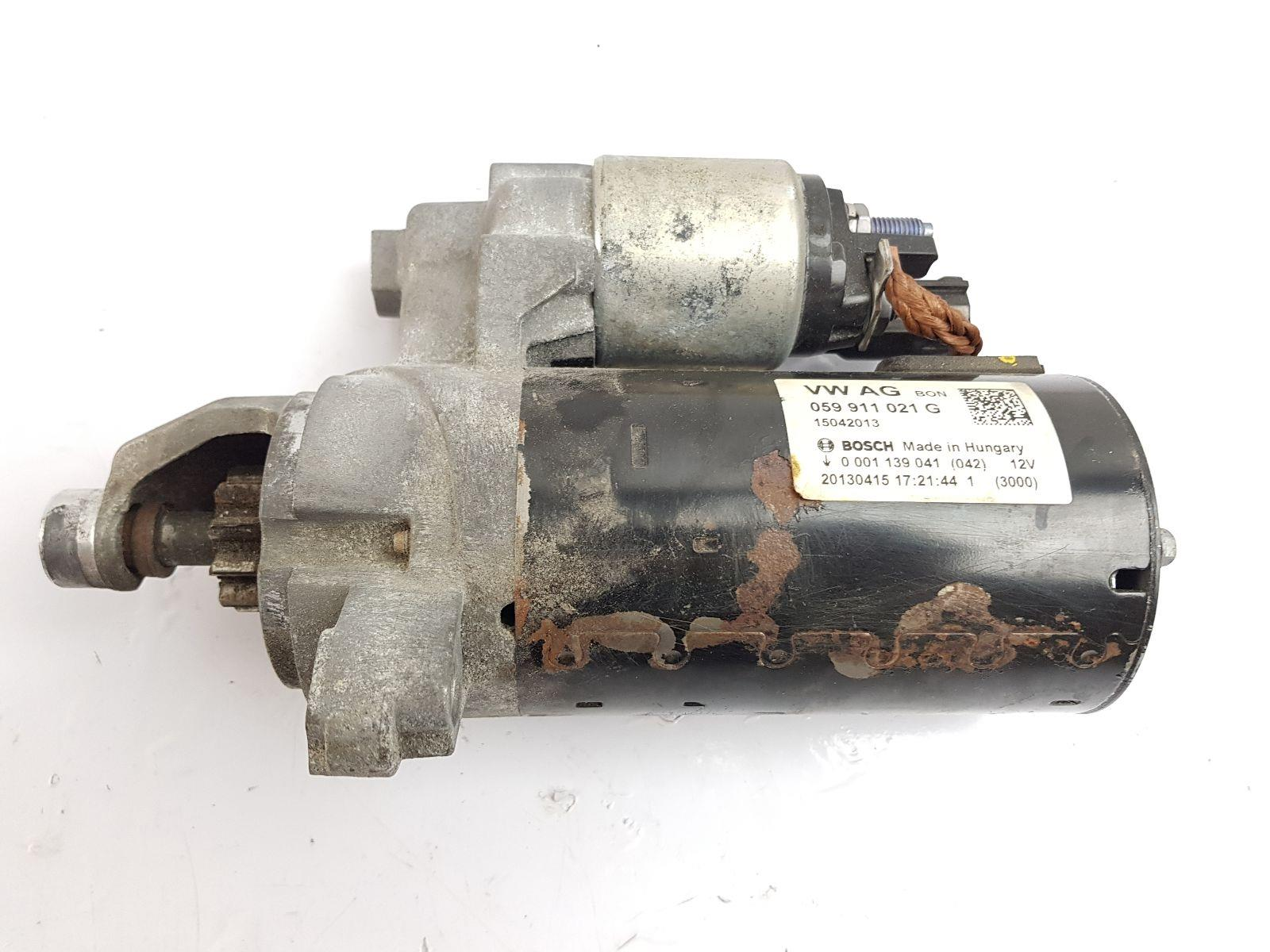 Audi A5 2011 To 2017 Starter Motor (Diesel / Automatic) for