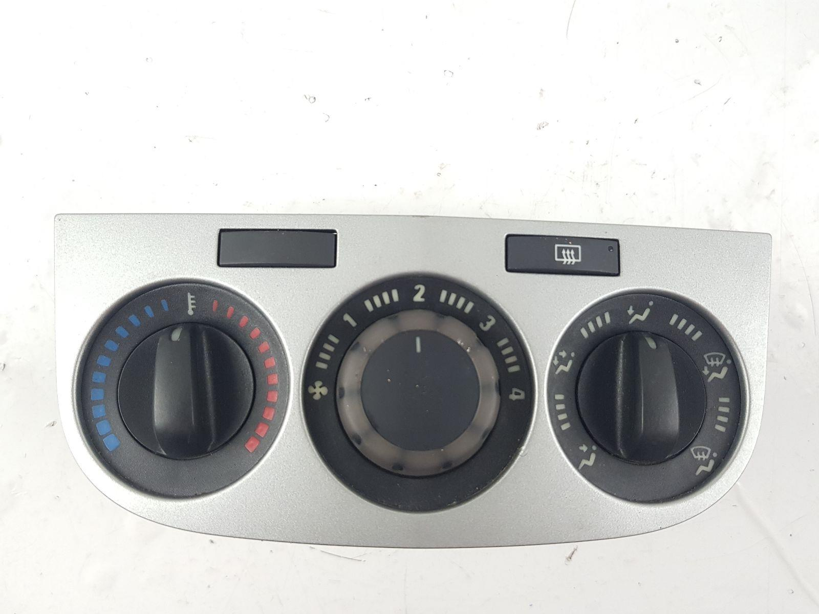 Vauxhall Corsa 2007 To 2011 Heater Control Assembly (Petrol