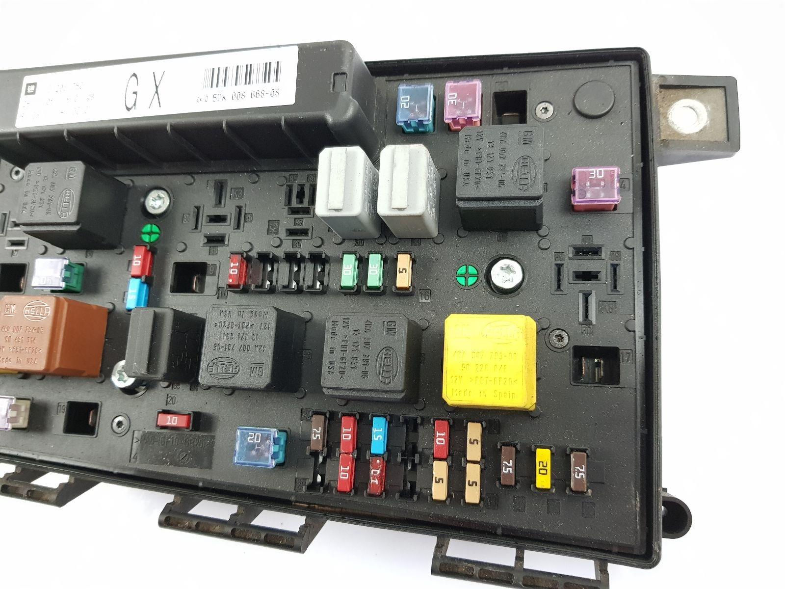 2004-2011 mk5 vauxhall astra h fuse box 13206750 gx