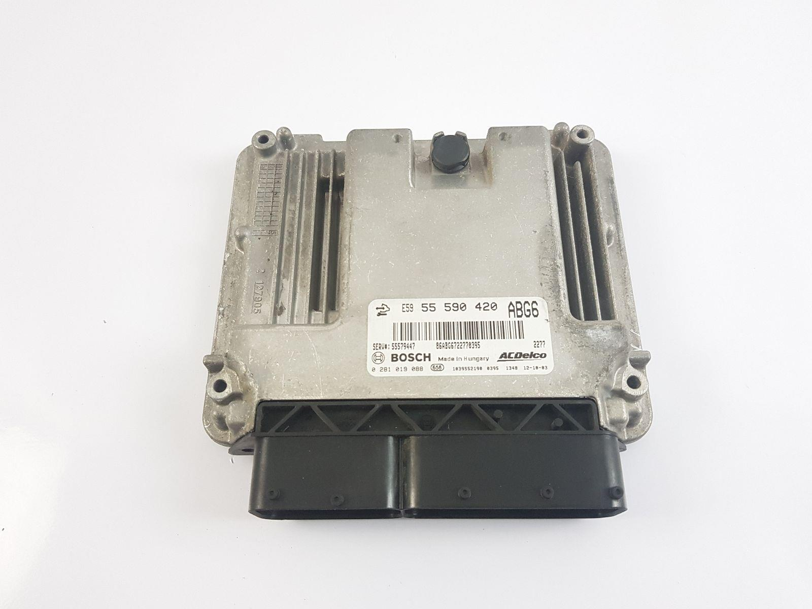 VAUXHALL MK6 (J) (A3400) 2009 TO 2015 ECU Engine