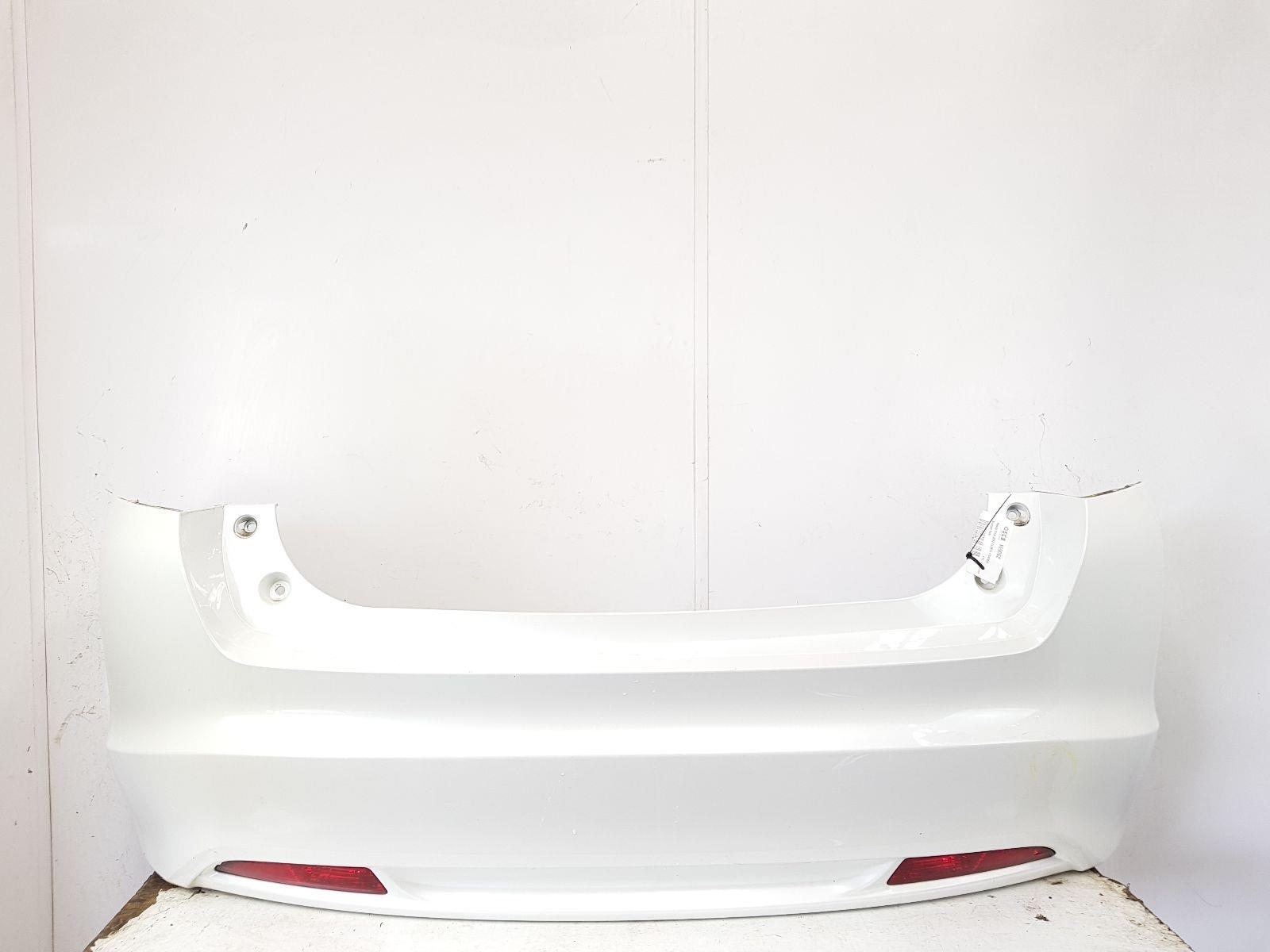 2011-2016 MK9 HONDA CIVIC REAR BUMPER WHITE 5 DOOR HATCHBACK