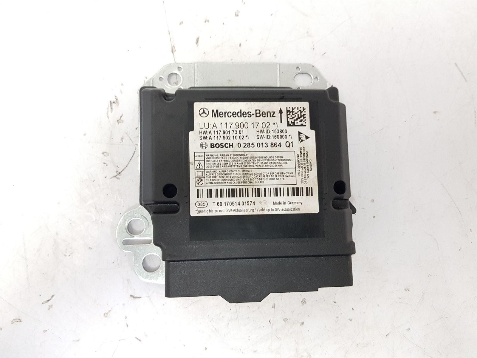 2014-2020 X156 MERCEDES GLA-CLASS BAG ECU A1179001702