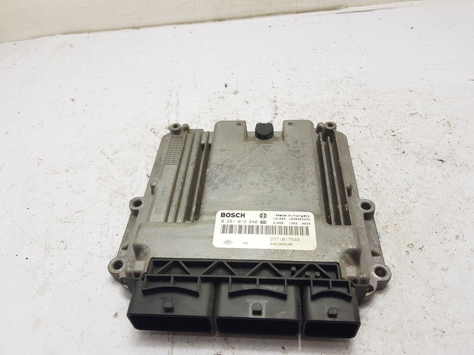 2006-2014 MK1 VAUXHALL VIVARO ENGINE ECU 2.0 DIESEL 237101754R