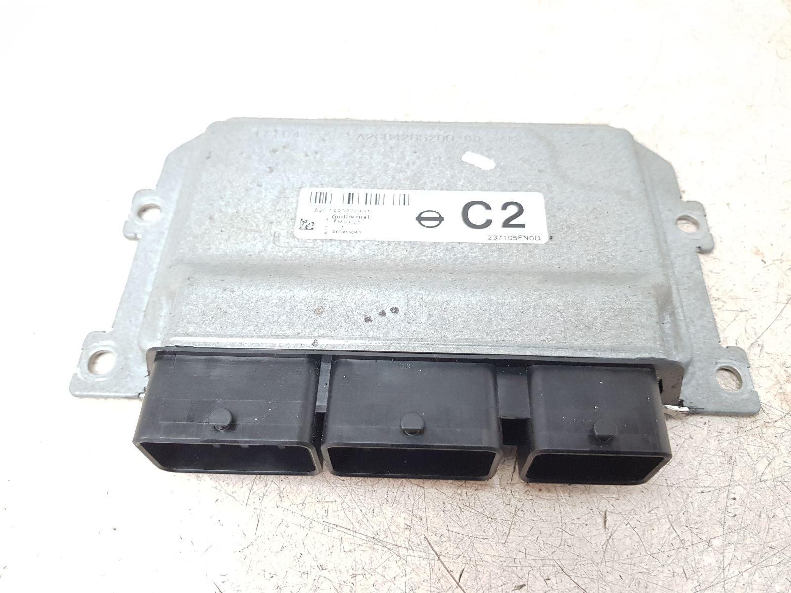 2017 On MK5 NISSAN MICRA K14 ENGINE ECU 0.9 PETROL H4B408 237105FN0D