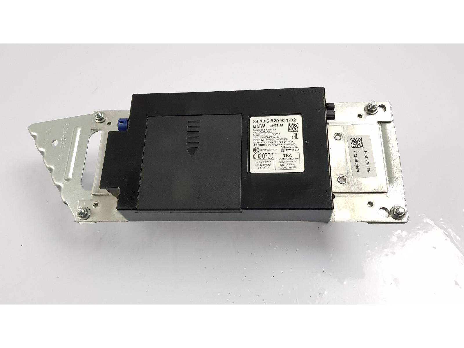 2015 On F48 BMW X1 TELEMATICS CONTROL UNIT 682093102