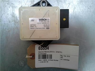 2010 Land Rover Discovery 4 Accelerometer AH42-14B296-AC 0 265 005 730