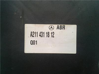 Mercedes-Benz E Class ABS Pump Modulator ECU 0130108129 0265250226 A2114311812