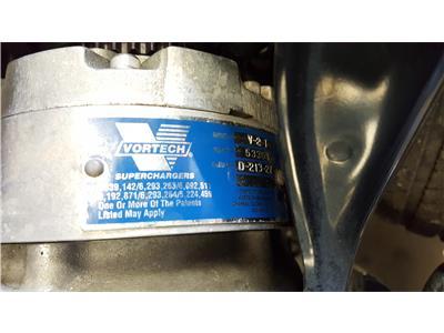 (2005) Nissan 350Z 3.5 V6 Engine with Vortech V-2 T Supercharger Conversion Kit