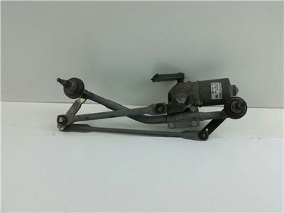 2007 Ford Fiesta Front Wiper Motor and Mechanism Linkage 2S6T-17B571-BC 404.746