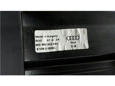 (2004) B6 Audi A4 Estate Parcel Shelf Roller Blind Load Cover 8E986355394H