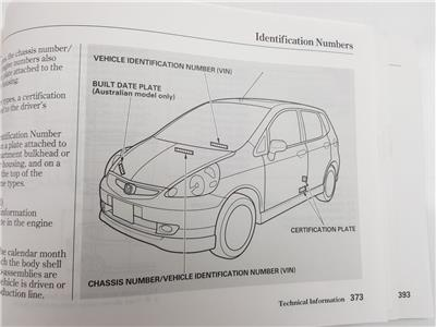 honda jazz 2002 to 2004 book pack petrol manual for sale from rh scbvehicledismantlers co uk manual book honda sonic 150r manual book honda grand impressa