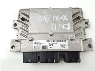 2011 MK7 Ford Fiesta ENGINE ECU 1.2 Petrol AV2112A650CB SNJB