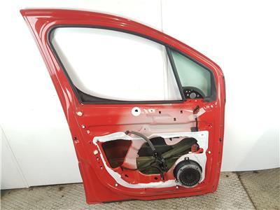 2008-2015 MK2 Peugeot Partner FRONT DOOR LH Passenger Side Red