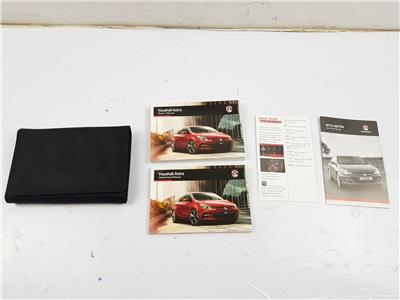 2015 On MK6 Vauxhall Astra J OWNERS MANUAL BOOK + Wallet